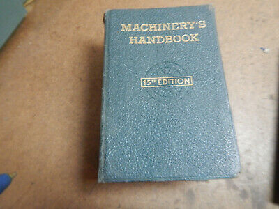 Vintage Machinery's Handbook Machinist Text Lathe Mill Shop