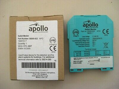 £28.80 Apollo 55000-822 APO XP95 Din Rail Switch Monitor
