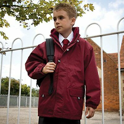 Result Junior//Youth Reversible Stormdri 4000 Jacket 9//10 nwt Red//Navy
