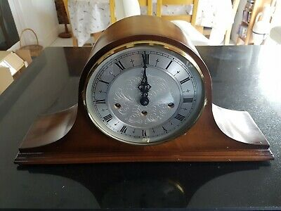 Antique Large St.james Westminster Mantel Clock German Franz Hermle Movement