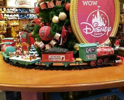 2019 Disney Parks Christmas Tree Train Set Mickey & Friends Holiday Express New