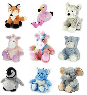 Heat Up Microwaveable Soft Cuddly Toys Warmies with Lavender Scent