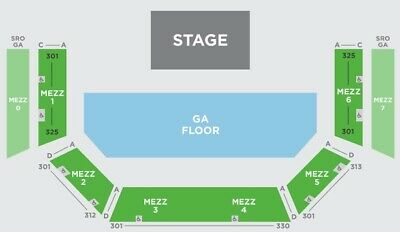 2 George Strait Tickets - Acl Live - Moody Theater - Austin - Balc 6 Row H 11/25