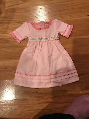 American Girl Doll Caroline pink dress