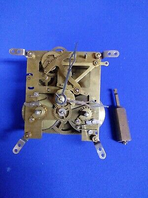 Vintage Brass & Steel Clock Gears & Parts For Repair/Steampunk Art British Mace