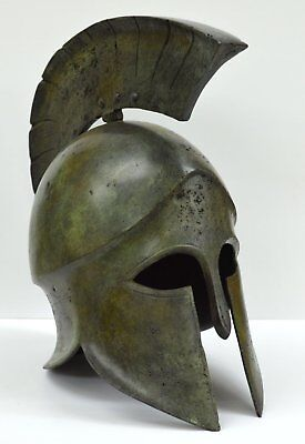 Corinthian Bronze helmet - Museum Replica - Ancient Greek Spartan Armor