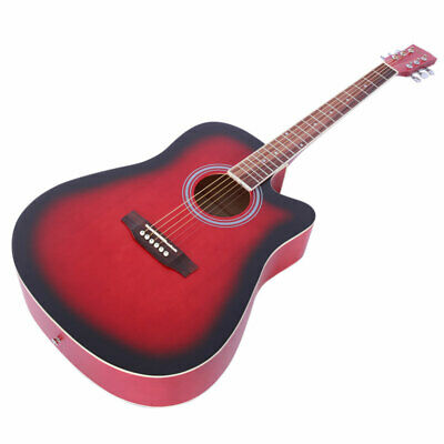 "Glarry 41"" Classic  Spruce  Acoustic Musical Guitar Pack Boys Girls Music Fun"