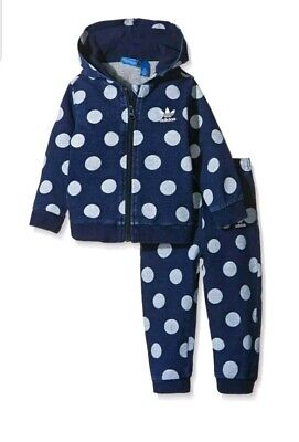 Infant Boys Girls Adidas Tracksuit Age UK 3M - 4 Years