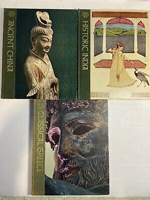 Great Ages of Man - Ancient China Historic India Classical Greece Time Life 1968