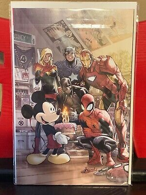 Chase the MARVEL COMICS #1000 Mickey Mouse Humberto Ramos  (READ DESCRIPTION)