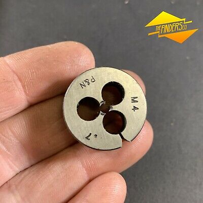 "*NEAR NEW* P&N AUST. METRIC M4mm x 0.7 BUTTON DIE 1""OD METALWORK MT3"