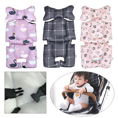 Baby Stroller Cushion Pad Reclining Strollers Seat Liner Cotton Soft Pad