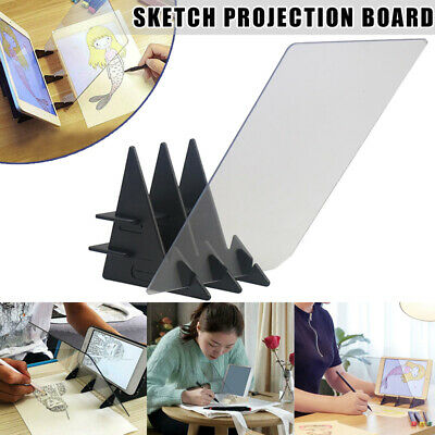 20x 13cm Optical Drawing Art Projector Tracing Drawing Board Paint Tools