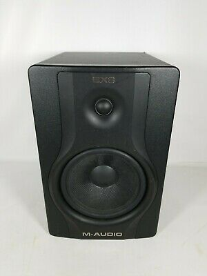 1pc M-Audio BX8 Powered Studio Carbon Black Reference Monitor Parts Only #3