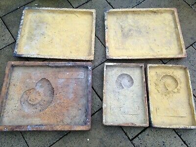 Large Rubber - Ammonite/Fossil - Concrete/Plaster Moulds - Various Sizes