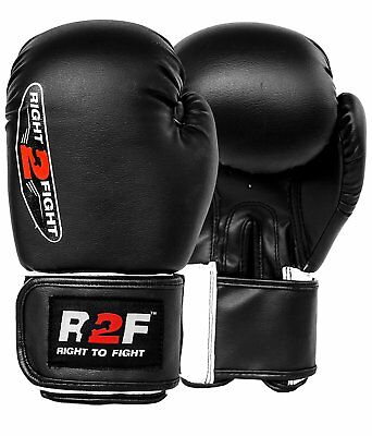 Boxing Gloves Professional Kickboxing Training Sparring MMA Mauy Thai Gloves
