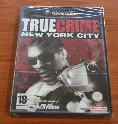 JEU Nintendo GAME CUBE True Crime New York City neuf blister