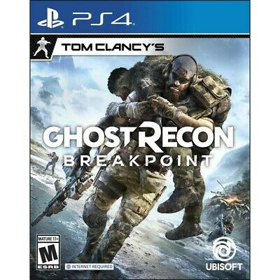 Ghost Recon Breakpoint Sentinel Corp Playstation 4 PS4 Brand New Factory Sealed!