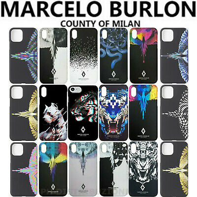 Cover Custodia Marcelo Burlon Milan Per Apple Iphone 6 6S 7 8 11 X Xs Xr Max Pro