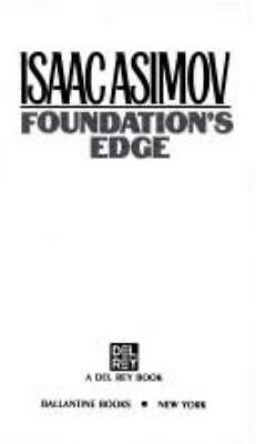 Isaac Asimov: 2 Book Lot -Foundation Series -Foundation's Edge-Foundation&Empire