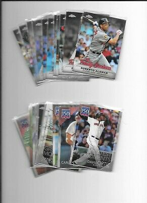 2019 Topps Chrome Update Family Business & 150 Years of Baseball - $1.99 each