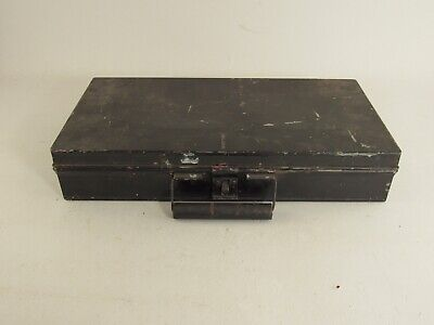 Vintage Artists Metal Tin Travel Field Paint Box