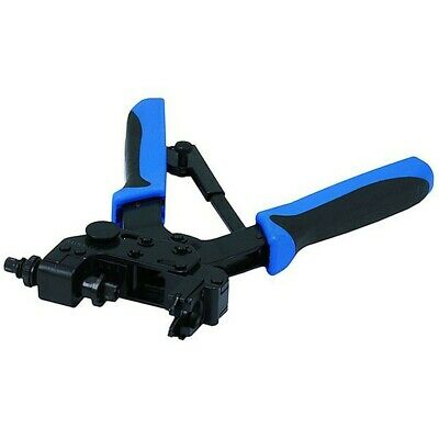 Adjustable Compression Crimping Pliers Tool F-Type BNC RCA RG6 RG59 Right Angle