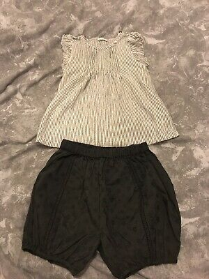 Girls Next 2 Piece Set Age 5-6yrs Small Stain In Picture