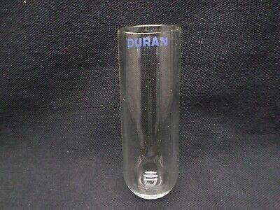 DURAN Glass 80mL Round Bottom Centrifuge Tube 40mm OD x 115mm Length 216012403