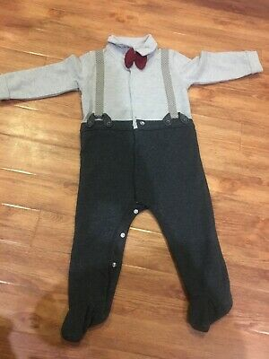 BABY BOYS MAMAS AND PAPAS OUTFIT 3-6//6-9//9-12 MONTHS 060713