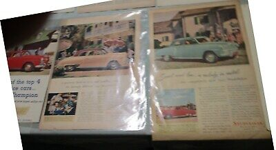 Studebaker Ads  - Set Of 9