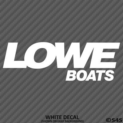 Lowe Boats Car/Truck Decal Outdoors Sports & Boating - Choose Color/Size