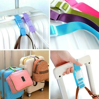 Adjustable Luggage Straps Tie Down Belt For Luggage Travel Buckle Suitcase X1S0
