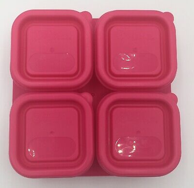 Green Sprouts Infant Food Storage Containers Set of 4 Plastic