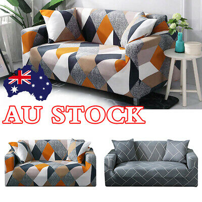 High Stretch Sofa Cover Couch Lounge Protector Slipcovers 1/2/3 Seater Covers AU