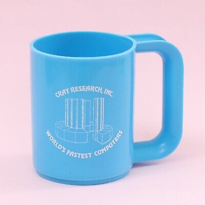 Vintage Cray Research, Inc. 'World's Fastest Computer' Plastic Mug Cup