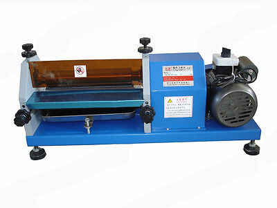 27cm Automatic Gluing Machine Glue Coating for Paper, Leather 220V