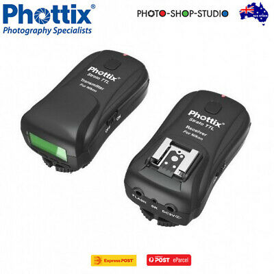 AU *Phottix Strato TTL Flash Transmitter & Receiver Set for Nikon CLEARANCE*