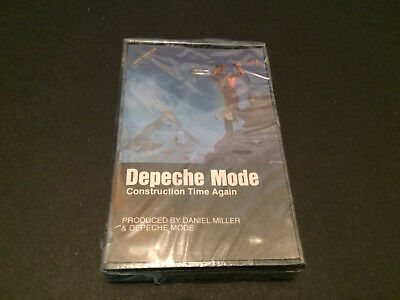 Depeche Mode Construction Time Again Usa Cassette Tape Factory Sealed