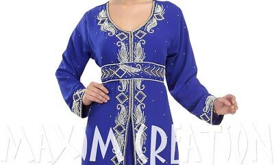 Embroidered Ball Gown Jellebiya Algerian Caftan Haute Coutre Wedding Gown 5538