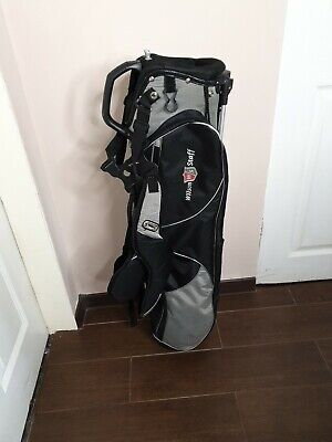 Wilson Staff Golf Pencil Sunday Lightweight Bag With Stand