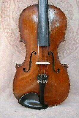 VIOLIN 4/4 labeled GIBERTINI ANTONIO 1847 VERY SUPER SOUND! +case bow accessoir.