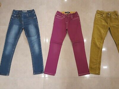 Girls Jeggings/Jeans/Cords Bundle. Age 9. Next & Mini Boden. Good Condition.