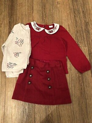 girls 3 piece outfit Age 3-4 next