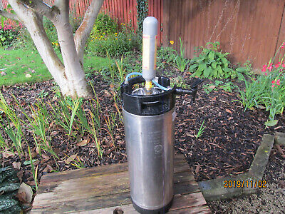 19 litre corny keg home brew with S30 valve and tap