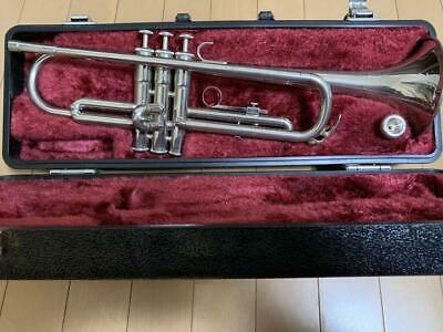 YAMAHA YTR-1310 Trumpet(silver) w/Case From Japan good Condition #191