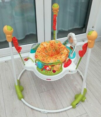 Fisher price jumperoo sunny days bouncer baby toy activity jumping