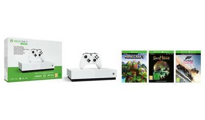 Xbox One S All Digital Edition Console & 3 Game + FIFA 20 (BRAND NEW - SEALED)