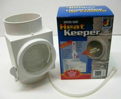 DRYER VENT HEAT KEEPER add heating  humidity GREEN PERFECT FOR DRY WINTER MONTHS