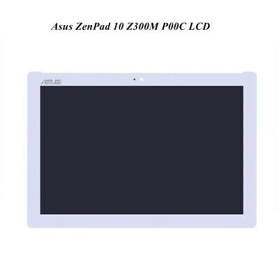 New OEM Asus ZenPad 10 Z300M P00C LCD Display Digitizer Touch Screen White